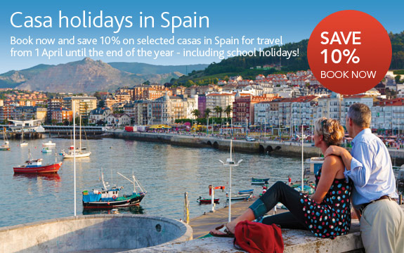 10% Off Casa Holidays In Spain